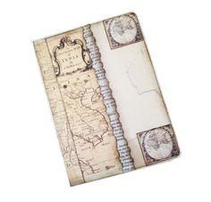 Maps Travel Journal, World Atlas Adventure Diary, Bound Travel Journal Scrapbook, Old Maps Photo Journal Notebook, Travel Log your Journey via Etsy