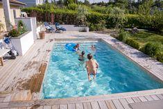 Above Ground Pool Decks, In Ground Pools, Pergola Patio, Backyard, Swimming Pools Drank, Sweden House, Hawaii Homes, Modern Pools, Garden Pool