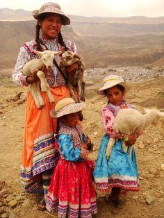 Meeting the people of Peru