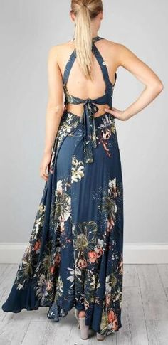 Details: Floral print Hollow design Open back Tie at back Slit at side Material:Polyester Regular wash We can ship items to any country! We accept Visa ,MasterCard and Paypal . SIZE(CM) US BUST SLEEVE