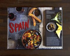 Spain, lettered with Paprika Jenna Carando
