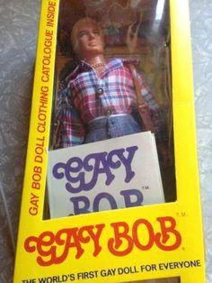 Vintage 1970s Gay Bob Doll 1977 Rare Collectible Gay History-NRFB