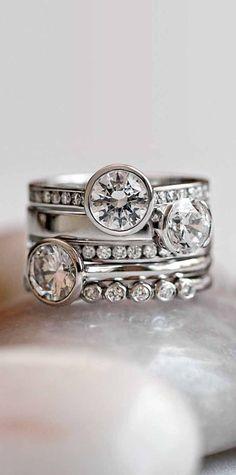 Bezel and Channel set Diamonds - safest way to wear diamonds!