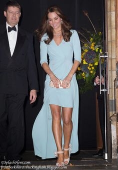 For being 12 weeks pregnant .... Kate was Rocking this dress last night @ the Wildlife Photographer of the Year Awards