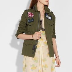 Disney X COACH M65 Jacket - Women s M65 Jacket daa178477