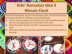 Ramadan Mosaic Clock
