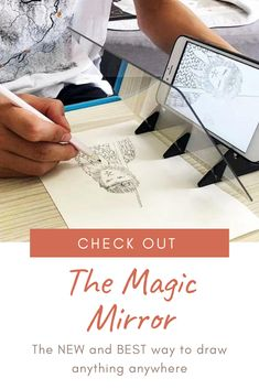 You May Enjoy drawing tutorial By Using These Helpful Suggestions Art Sketches, Art Drawings, Tracing Art, Art Studio Design, Magic Mirror, Painting & Drawing, Drawing Tools, Drawing Ideas, Sketching