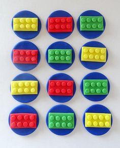 Edible Lego Cake Toppers