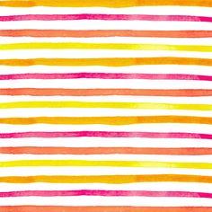 Combinez les techniques de lignes parfaites et de l'aquarelle, pour un résultat jovial et estival comme celui-ci!