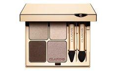 La palette de maquillage Ombre Minérale 4 Couleurs de Clarins http://www.vogue.fr/beaute/shopping/diaporama/15-palettes-fard-a-paupieres-rentree-2014/19898/image/1041367#ombre-minerale-4-couleurs-de-clarins