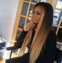 http://www.shorthaircutsforblackwomen.com/best-hair-weave-to-buy/ Love her hair Black Girls, Ebony Girls