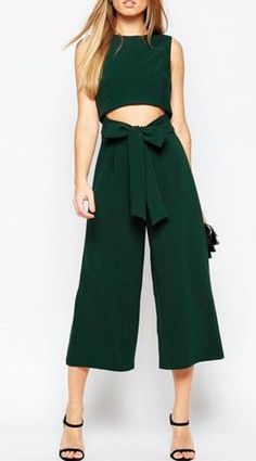 ffb912acecf2 Gamiss 2016 Summer Fashion Sexy Belt Corset Hollow Out Women Wide Leg Jumpsuit  Ladies Sleeveless Jumpsuit Bodycon Playsuits