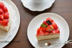 可愛い苺のケーキ - weeeek39キッチン | クックパッドブログ