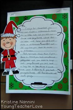 Christmas Persuasive Writing Part Published Work - Young Teacher Love by Kristine Nannini 5th Grade Classroom, Middle School Classroom, Opinion Writing, Writing Help, Christmas Crafts For Kids, Christmas Themes, Persuasive Writing Prompts, 4th Grade Writing, Graphic Organizers