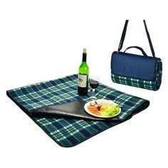 Picnic At Ascot Fleece Picnic Blanket Tote