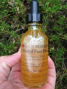 Organic Herbal Face Food: A Natural Skin Serum That Get's Results!