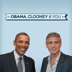 Fly to California with a +1 to meet the President at George Clooney's house—it's a once-in-a-lifetime sort of thing: http://OFA.BO/mkcyBz