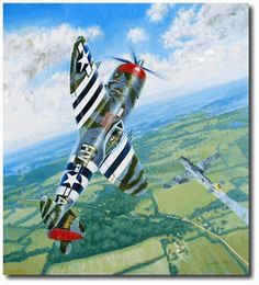 Gabby's by Troy White Thunderbolt). Francis Gabreski maneuvers his to avoid overrunning his victim for his twenty-eighth victory of WWII On July Ww2 Aircraft, Fighter Aircraft, P 47 Thunderbolt, Military Drawings, Aircraft Painting, Airplane Art, Vintage Airplanes, Aircraft Pictures, Nose Art