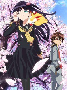 Tres voces más para el reparto y nueva imagen promocional del anime Sousei no Onmyouji