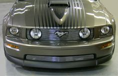05, 06, 07, 08 Classic Mustang GT (Overlay) Grille ***stripes***