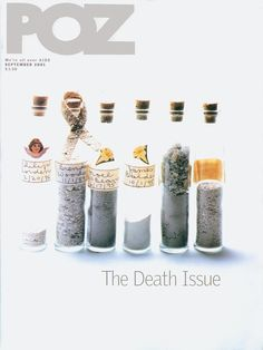 POZ magazine September 2001: The Art of Dying #HIV #AIDS