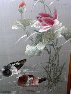 Wonderful Ribbon Embroidery Flowers by Hand Ideas. Enchanting Ribbon Embroidery Flowers by Hand Ideas. Chinese Embroidery, Sashiko Embroidery, Silk Ribbon Embroidery, Hand Embroidery Patterns, Embroidery Art, Embroidery Stitches, Embroidered Silk, Machine Embroidery Thread, Machine Embroidery Designs