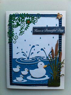 Memory Box Splashing puddles and Ducks.