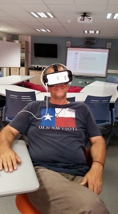 Virtual Reality has arrived at the CUTing Edge.
