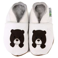 Teddy Bear Soft Sole Leather Baby Shoes - Overstock Shopping - Big Discounts on Augusta Baby Girls' Shoes