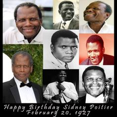 #BlackHistory   Sir Sidney Poitier, born February 20, 1927. He is an American born Bahamian actor, film director, author, diplomat, and in 1963, became the first black person to win an Academy Award for Best Actor for his role in Lilies of the Field. The significance of this achievement was later bolstered in 1967 when he starred in three successful films: To Sir, with Love; In the Heat of the Night; and Guess Who's Coming to Dinner.    #ShadesofColor #SidneyPoitier