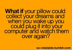 could you imagine..