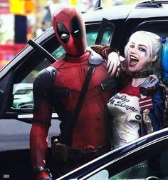 Deadpool y Harley Quinn, el crossover marvel dc