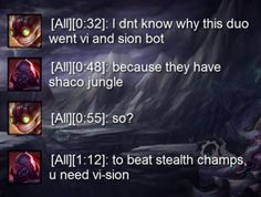 How to counter Shaco jungle Gamers Games Gaming Online Gaming Video Gaming // '); Lol League Of Legends, League Of Legends Poster, Video Games Funny, Funny Games, League Memes, Pokemon, Naruto Funny, Mobile Legends, Fun Comics