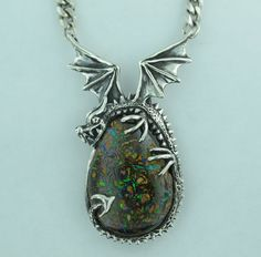 Marty Magic Store - Korite Opal Dragon Pendant