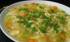 Cheeseburger Chowder, Thai Red Curry, Soup, Ethnic Recipes, Summer, Red Peppers, Soup Appetizers, Soups, Chowder