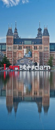 ✔️ Visited the Rijks Museum in Amsterdam, Netherlands Places Around The World, The Places Youll Go, Places To Visit, Around The Worlds, Rotterdam, I Amsterdam, Amsterdam Travel, Amsterdam Canals, Europe