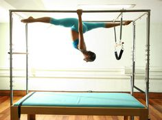 Flexibility and strengthening - Pilates and Aerial does the trick