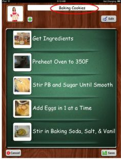 Following recipe steps using FTVS HD.