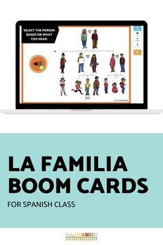Check out these easy and fun activities for your middle school or high school Spanish classes! Students learn how to use family vocabulary in Spanish sentences in fun and meaningful ways. Reading, writing, and listening practices for la familia in Spanish class! Click to see more! #spanishclass #secondaryspanish Family In Spanish, Middle School Spanish, Spanish Sentences, Spanish Lesson Plans, Interactive Cards, Spanish Classroom, Student Learning, Task Cards, Fun Activities