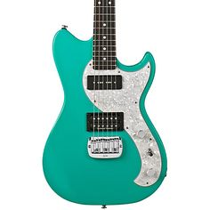 G&L Fallout Electric Guitar Belair Green