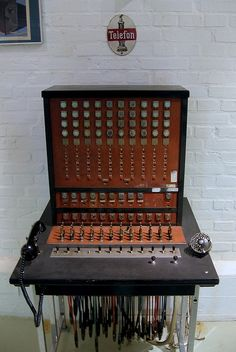 Old phone operator console by Marcin Wichary, via Flickr  I can remember a job that I had using one of these way back when, LOL