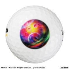 Atrium   Wilson Ultra 500 Distance Golf Ball Pack Of Golf Balls