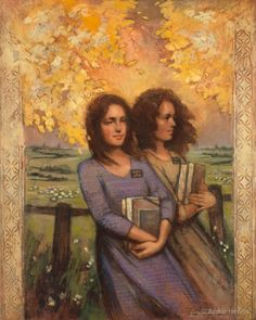 This Is My Joy by Annie Henrie - Painting of Mormon sister missionaries