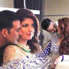 Perfect & Most Lovely Couple of Bollywood Akshay Kumar & Twinkle Khanna 󾌧 Bollywood Couples, Bollywood Stars, Bollywood Fashion, Perfect Couple, Best Couple, Celebrity Couples, Celebrity Photos, Akshay Kumar And Twinkle, Bollywood Theme Party