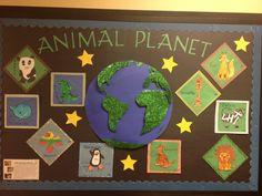 Animal planet bulletin board