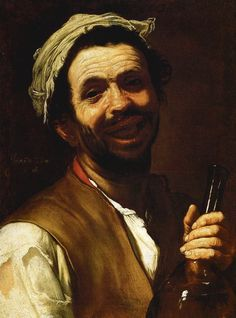 El bebedor. José de Ribera.