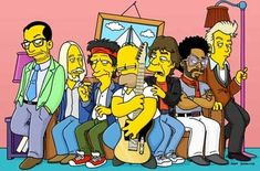 get myself a small role in the simpsons episode