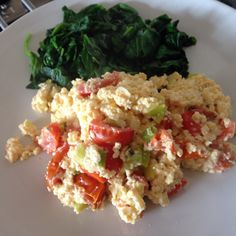 Scrambled feta and egg hash - 90 daysss plan - The Body Coach - Cycle 1