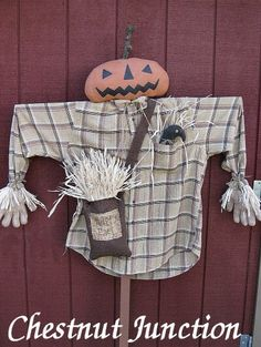 Jack Scarecrow EPATTERN-primitive fall autumn harvest thanksgiving halloween cloth doll decor decoration ornament outdoor craft sewing pattern by chestnut junction on Etsy Primitive Fall Crafts, Primitive Scarecrows, Diy Scarecrow, Primitive Patterns, Autumn Crafts, Primitive Autumn, Holiday Crafts, Halloween Wood Crafts, Fairy Halloween Costumes