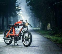 "Jawa Babetta 206 cafe racer moped named ""Кристина""  More photos on - http://ift.tt/1MOOLiU (Link in Profile) | #jawa | #jawamotorcycles.com | | #idealjawa| #2stroke | #Cz | #bikestagram | #biker | #bikelife | #bikeride | #bikergang | #motorcycles | #yezdi | #retro | #czech | #vintage | #vintagestyle |#india | #motorsport | #motorbike | indian | #caferacer | #bikeporn | #instamotogallery | #caferacer #racer #cafe"